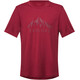 Bergans Explore Wool Tee Men Red/Burgundy